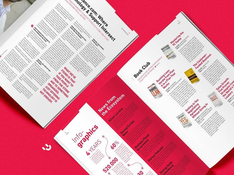 Silicon Magazine magazine layout editorial design branding creative studio