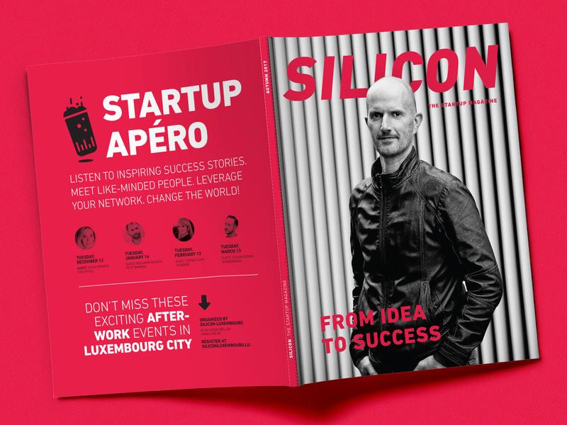 Silicon Magazine Cover layout magazine editorial design branding creative studio