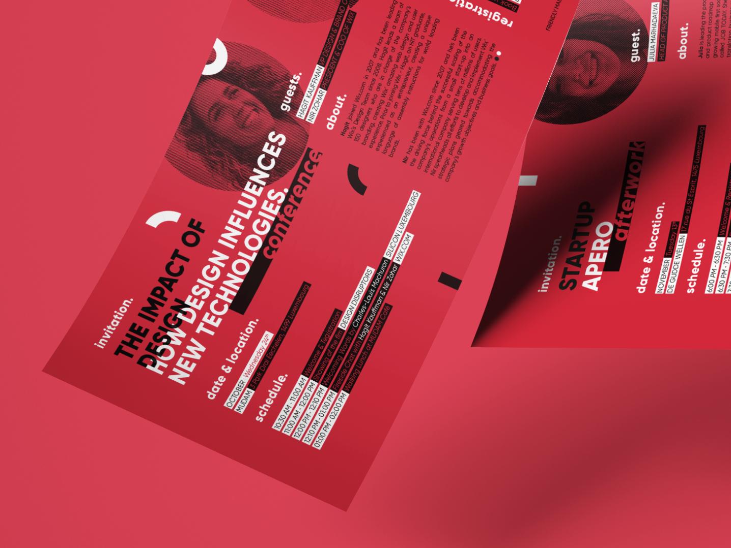 Flyer event flyer branding vector design creative studio