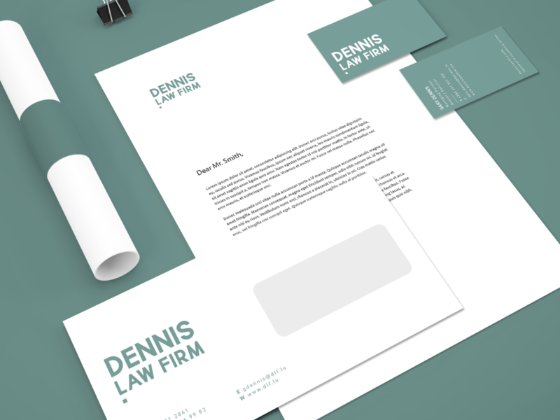 Stationary Design typography branding vector design creative studio