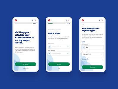 nzf.org.uk - Calculator Mobile app website ui web ux design