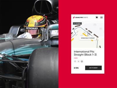 Grand Prix Events Mobile Ticket