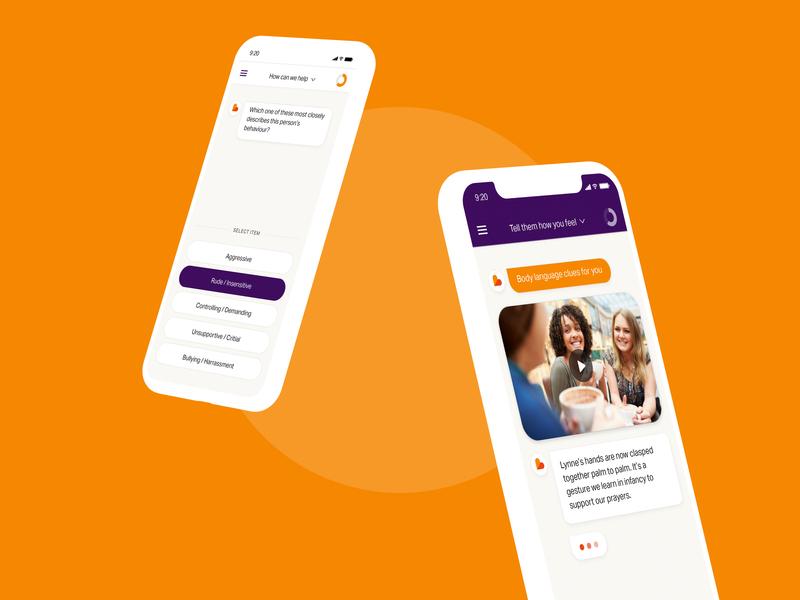 Emoquo - Digital Coaching App app ui ux design