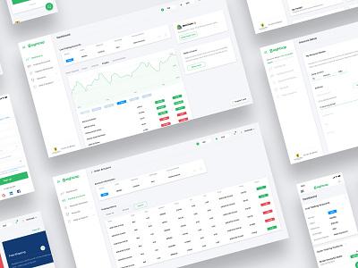 EightCap - Australian FX & CFD Broker interface app ui ux design