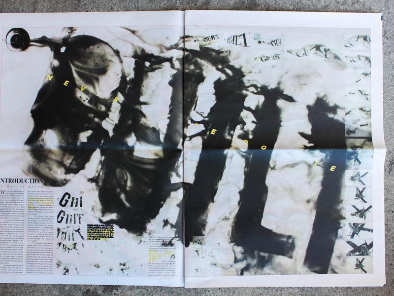 """""""Guilt"""" visual design type typographic exploration typography art direction graphic design"""