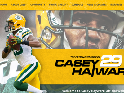 Casey Hayward nfl football packers cheeseheads