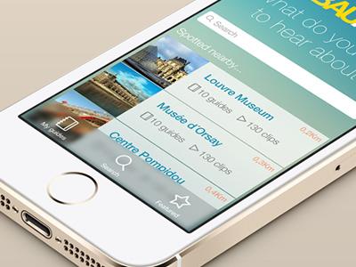 iOS7 app work in progress ios7