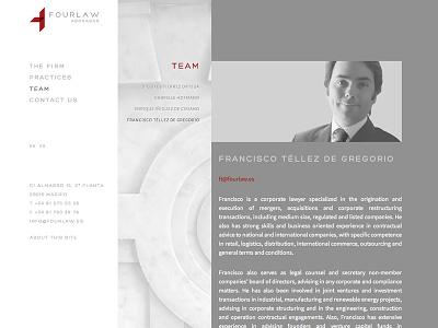 Fourlaw Website webdesign law