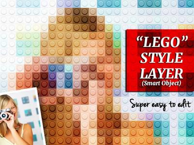 Brick Toy Effect