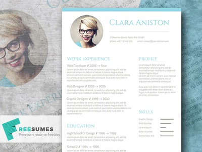 Free Resume Template - Freesumes