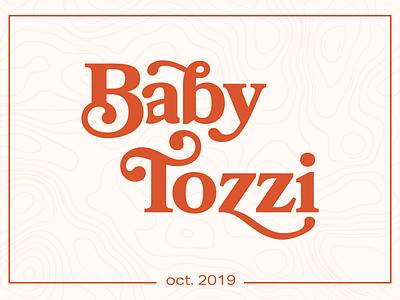 Bebe Announcement print design baby announcement print design typography