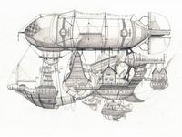 Airship #2 - Flotilla