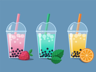 Tapioca bubble tea