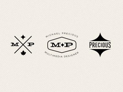 Logo Elements vintage retro black classic slab serif diamond shape