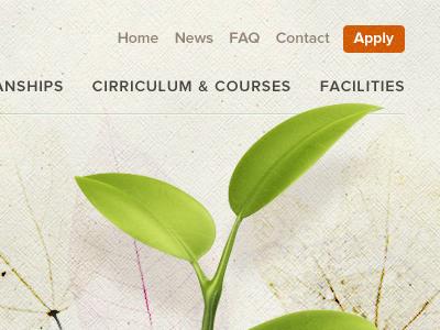 University Home 2 texture paper plant flora fauna sans green beige leaf leaves