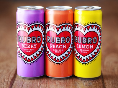 Rubro Ice Tea the famous frouws illustration packaging design tea ice tea natural drink beverage heart health woodcut letterpress vintage retro antique design typography simon frouws south africa cape town type organic