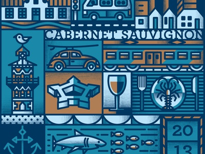 Wine & The City the famous frouws wine label shark train castle clock tower simon frouws wine city cape town packaging design packaging
