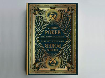 Novel Idea #1 illustration eye engraving etching woodcut vintage simon frouws vilnius poker diamond border ornament logo
