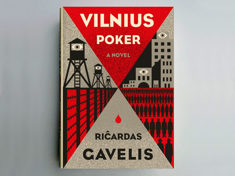 Novel Idea #2 the famous frouws eye triangles book poker playing cards people road city vilnius novel