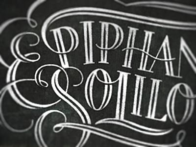 Epiphanies   soliloquies