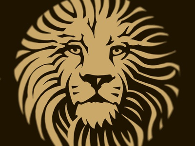 Cape to Cairo Symbol logo logo design king engraving wine simon frouws africa animal lion woodcut wine label illustration