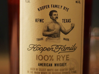 Bare Knuckle Boxer the famous frouws packaging rye whiskey artisanal whiskey boxer simon frouws vintage woodcut engraving spirit label illustration