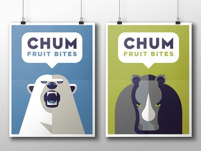 CHUM Fruit Bites - Part 1 the famous frouws sweets simon frouws rhino polar bear healthy fruit bites fruit chum bite animals