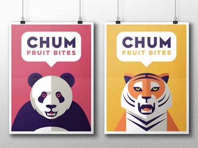 CHUM Fruit Bites - Part 2 the famous frouws sweets simon frouws tiger panda bear healthy fruit bites fruit chum bite animals