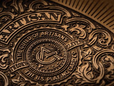 Artisans - 'Cigar' Box the famous frouws illustration etching artisan artisans guild of artisans engraving woodcut woodblock vintage retro antique design typography vintage typography simon frouws design south africa south africa theory eleven theory 11 playing cards