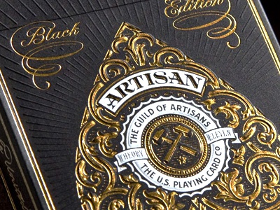 Artisans Deck - Embossing illustration etching engraving woodcut woodblock letterpress vintage retro antique design typography vintage typography simon frouws design south africa south africa cape town playing cards cards ace joker