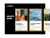 National Geographic E-magazine Concept