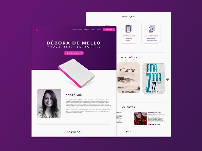 débora de mello | website and portfolio