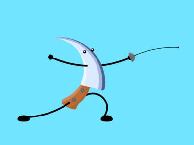 Fencing Knife