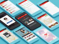 Date Cafe - Dating App Project UI Design
