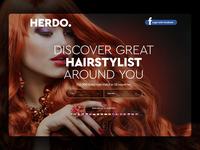 Herdo Website Design