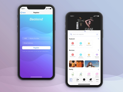 Backend Classified App UI login user interface photoshop classic car offer listing register sketchapp iphone design interface mobile ios app daily ui ux ui ads classified