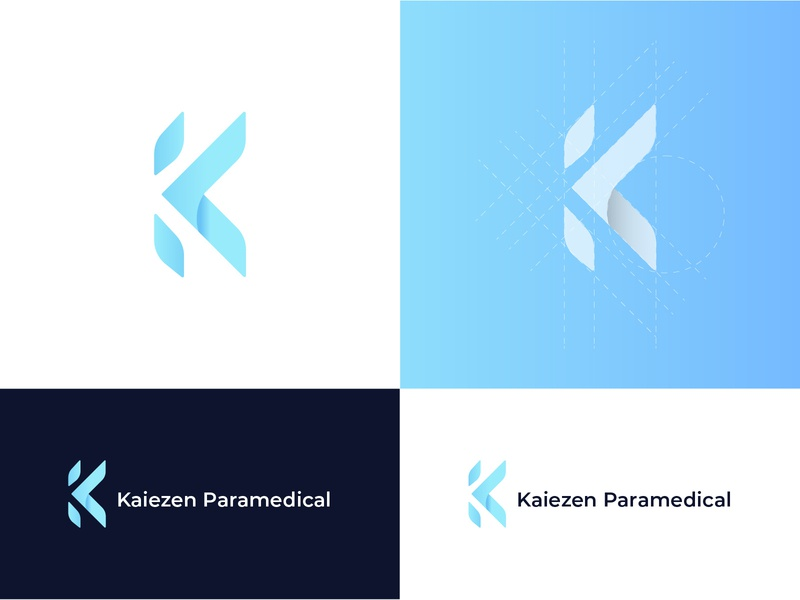 letter K Logo design vector branding ui illustration illustration design logoconcept letter logos logotype logo design