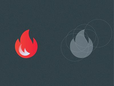 Flame logo concept  - Ignition App logos logodesign ignition logo design branding rebranding