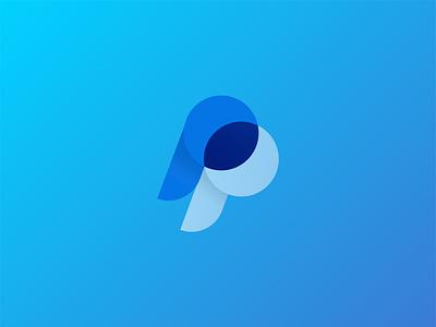Paypal logo reconstruction concept logoconcept logos rebranding branding logo design