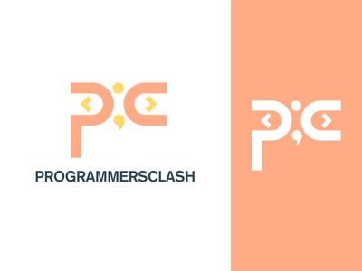 Programmers clash Logo concept concept logos logoconcept logo branding