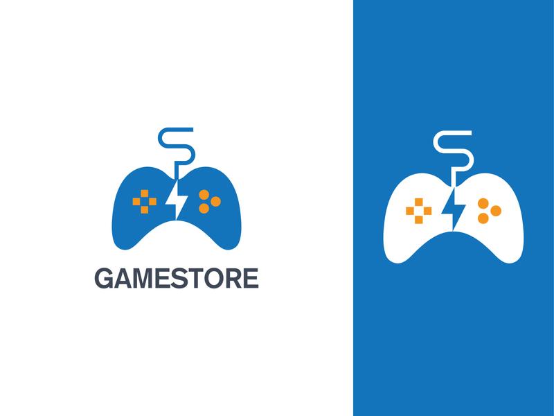 Game Store Logo Concept logoconcept logos design logo branding