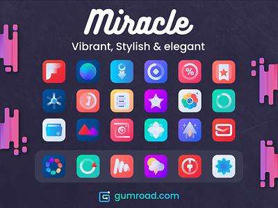 Miracle theme - ios14 ios14 ios theme ios icons theme icons design icons