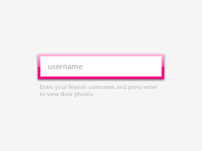 Username Entry login username text entry