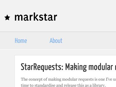 2011 Blog: Header Detail 2011 minimal clean blog wordpress detail