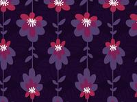 Moody Violets - Pattern
