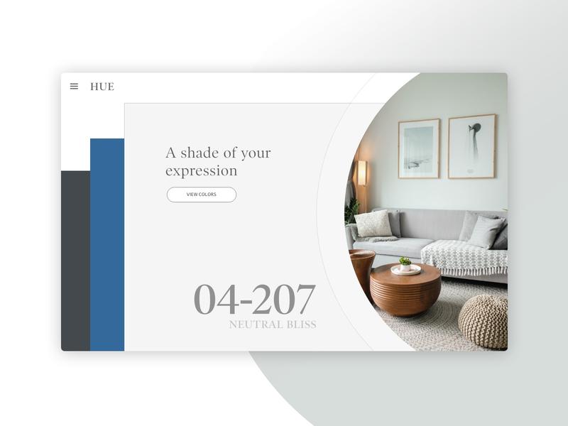 Daily UI 003 | Landing Page interior design daily ui 003 design uidesign daily ui challenge landing page