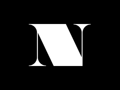 N typography type lettering n flat black 36daysoftype 36days