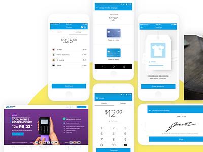 Mercado Pago - Lector de tarjetas reader credit cards credit card mobile pos mercadolibre mercadopago ux  ui ux
