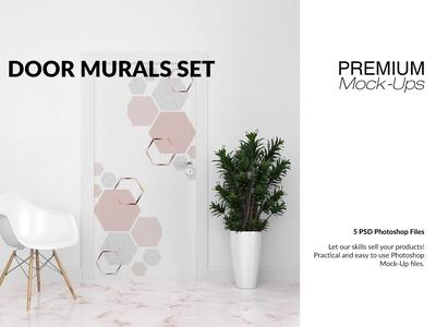Door Murals & Floor Set