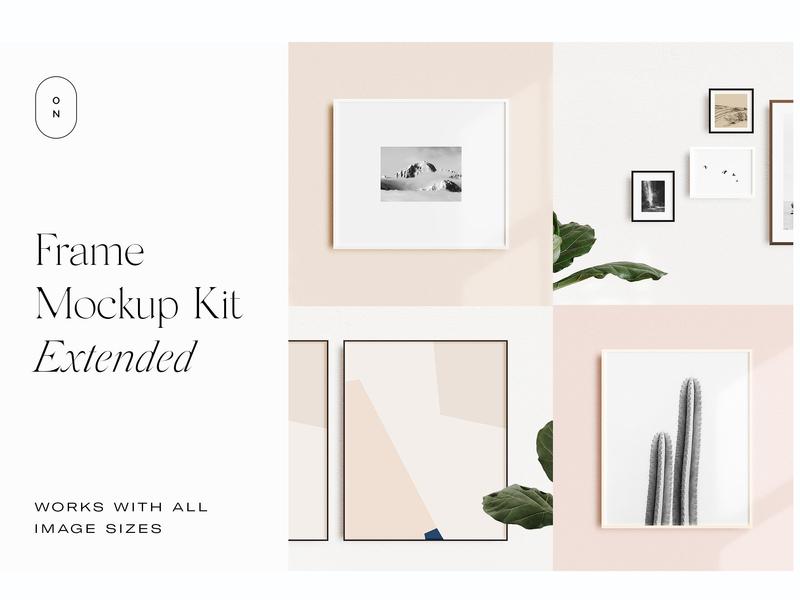 Frame Mockup Kit Extended by Interior Design on Dribbble